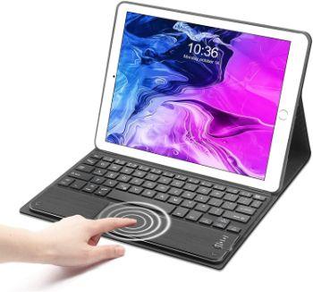 iPad 9.7 ケース キーボード (第5世代 第6世代 通用) タッチパッド 搭載 SENGBIRCH