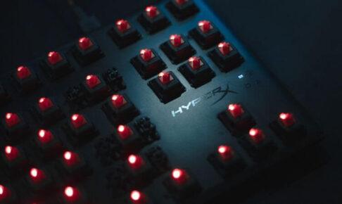 メカニカルキーボードの軸の種類