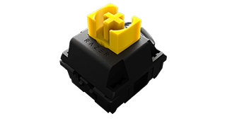 Razer Yellow Switch(銀軸タイプ)