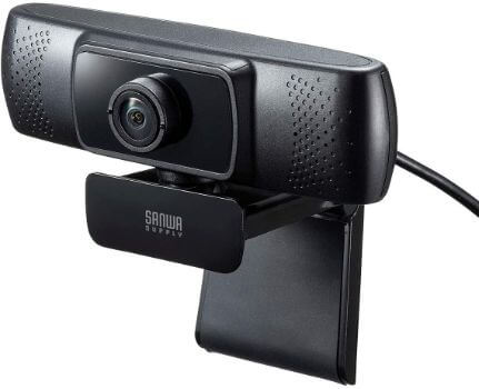 サンワサプライ 会議用ワイドレンズWEBカメラ CMS-V43BK