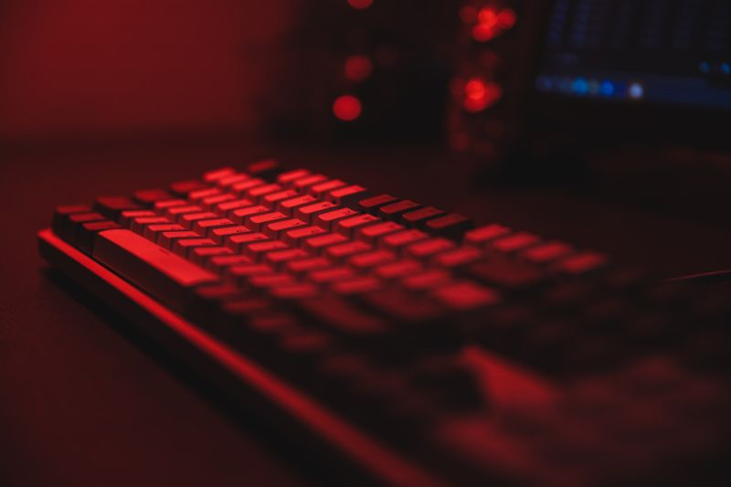赤軸メカニカルキーボード