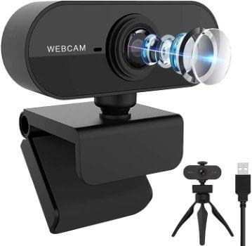 Plusysee Webカメラ HD1080P/30fps フルHD