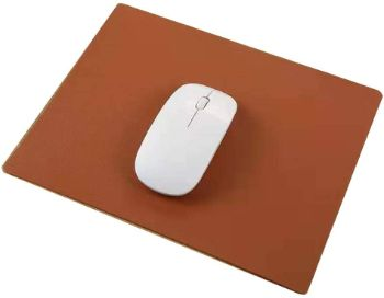 PUレザーマウスパッド耐久性のある防水マウスマット
