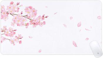 マウスパッド 大型 ゲーミング デスクマット 桜が咲き舞う