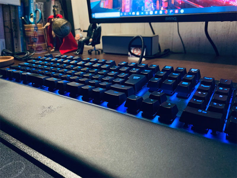 Razer BlackWidow Eliteのデザイン