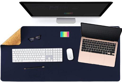 大型マウスパッドでデスクの模様替えができる