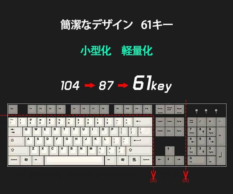 好みのキー数からキーボードを選ぶことができる