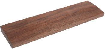 Side3 天然木 ウッドリストレスト 木製パームレスト (Mサイズ:30cm, ウォールナット材)